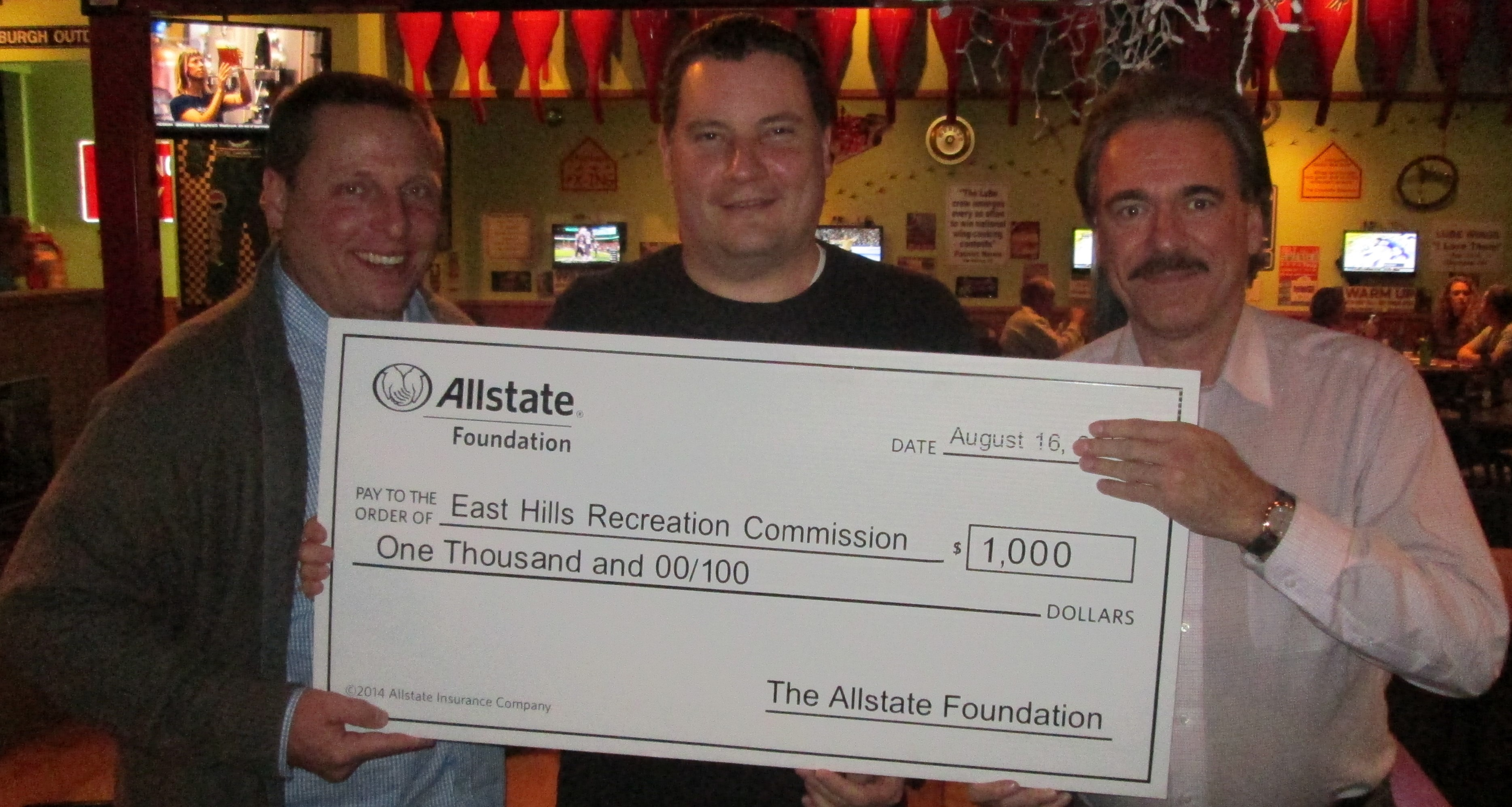 Allstate Foundation Grant - East Hills Recreation 2016 (2)